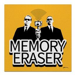 "Холст 50x50 ""Memory Eraser"" - арт, кино"