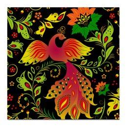 """Холст 50x50 """"Жар - птица"""" - красиво, цветы, ярко, природа, жар - птица"""