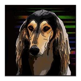"""Холст 50x50 """"Салюки"""" - животные, собаки, борзая, салюки, персидская борзая"""