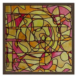 "Холст 50x50 ""bdbd--;12"" - арт, узор, абстракция, фигуры, текстура"