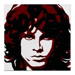 "Холст 50x50 ""Джим Моррисон"" - рок, doors, моррисон, morrison"