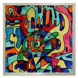 """Холст 50x50 """"8111as-=a"""" - арт, узор, абстракция, фигуры, текстура"""