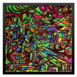 """Холст 50x50 """"s`s`s-0.w"""" - арт, узор, абстракция, фигуры, текстура"""