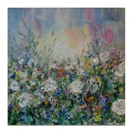 """Холст 50x50 """"Сказка"""" - красиво, картина, живопись, в дом"""