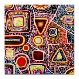 """Холст 50x50 """"гравитация"""" - картина, абстракция, творчество, живопись, яркие краски"""