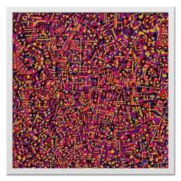 "Холст 50x50 ""Карамель."" - арт, узор, абстракция, фигуры, текстура"