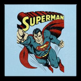 """Холст 50x50 """"Супермен"""" - супермен, комиксы, superman, супергерои"""