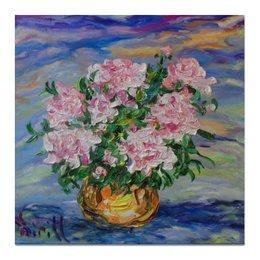 "Холст 50x50 ""Пионы"" - весна, красота, цветочки, май, букет"