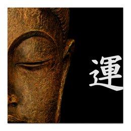 """Холст 50x50 """"Будда"""" - удача, buddha, будда, буддизм"""