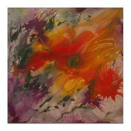 """Холст 50x50 """"Пламя страсти"""" - любовь, эротика, страсть, желание, энергетический"""