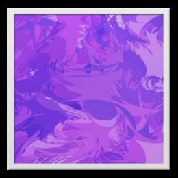 """Холст 50x50 """"Фиолет"""" - арт, стиль, офис, в подарок, оригинально, креативно, декор"""