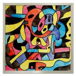 "Холст 50x50 ""ttt`12ll"" - арт, узор, абстракция, фигуры, текстура"