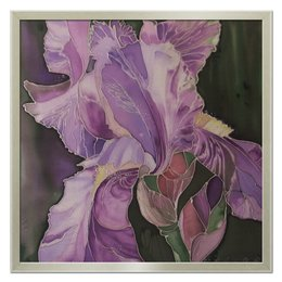 "Холст 50x50 ""Волшебный ирис"" - арт, цветы, ирис"