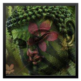 "Холст 50x50 ""Будда "" - природа, buddha, будда, буддизм, духовность"