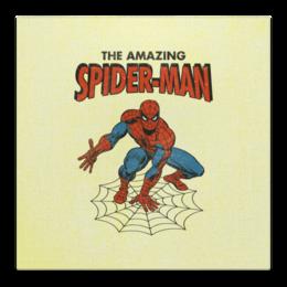 """Холст 50x50 """"Человек-паук"""" - комиксы, супергерои, spider man, человек паук, spiderman"""