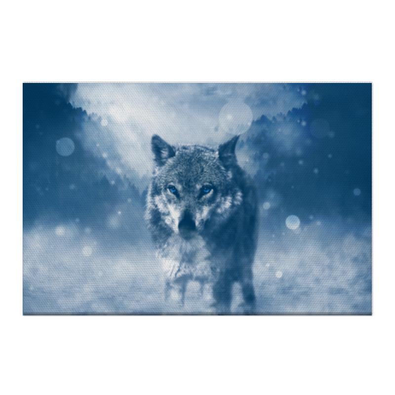 Холст 50x75 Printio Волк с голубыми глазами холст 20х30 printio волк с голубыми глазами