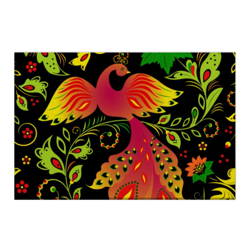 Холст 50x75 Printio Жар - птица макароны pasta la bella baby макароны звездочки триколор с 18 мес 400 г