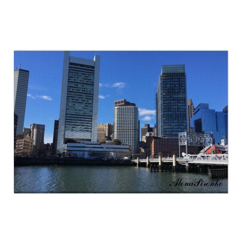 Холст 50x75 Printio Бостон печенье брянконфи восточное чудо 260г