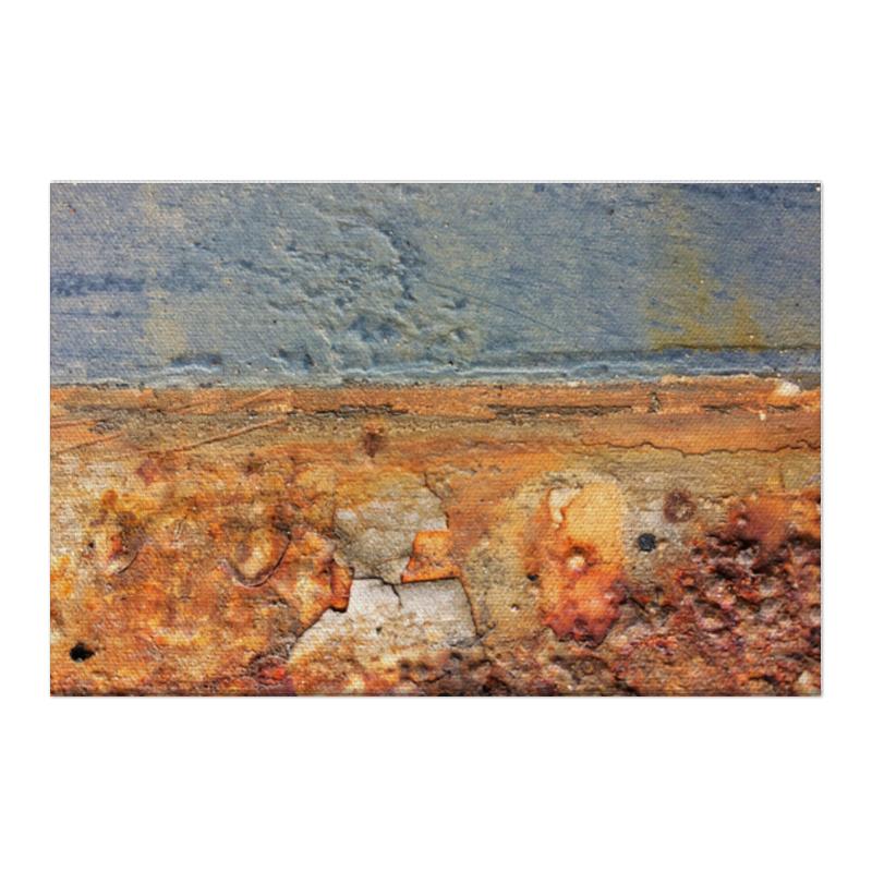 Холст 50x75 Printio Фактура полбяная мука с пудовъ 450 г