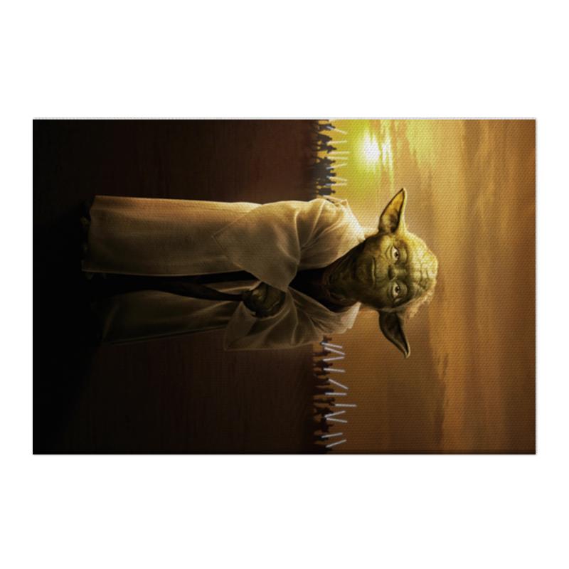 Холст 50x75 Printio Звездные войны - йода