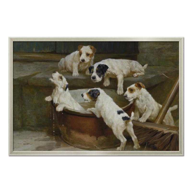 Холст 50x75 Printio 2018 год собаки холст 20х30 printio колли картина артура вардля