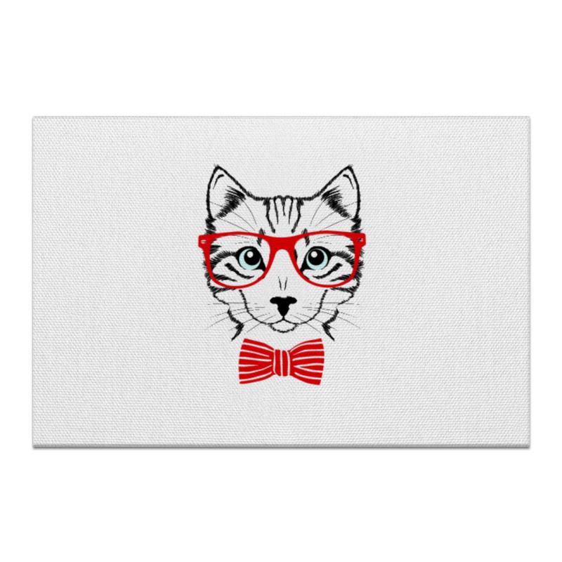 Холст 50x75 Printio Кошка андрей дашков домашнее животное