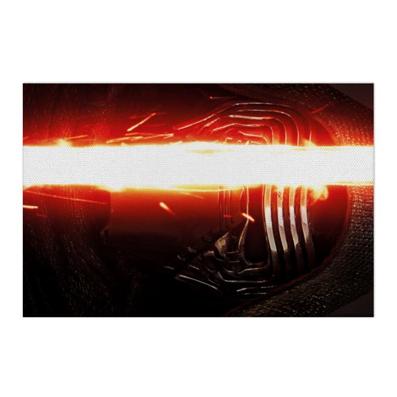 Холст 50x75 Printio Звездные войны - кайло рен чехол для ноутбука 14 printio кайло рен звездные войны