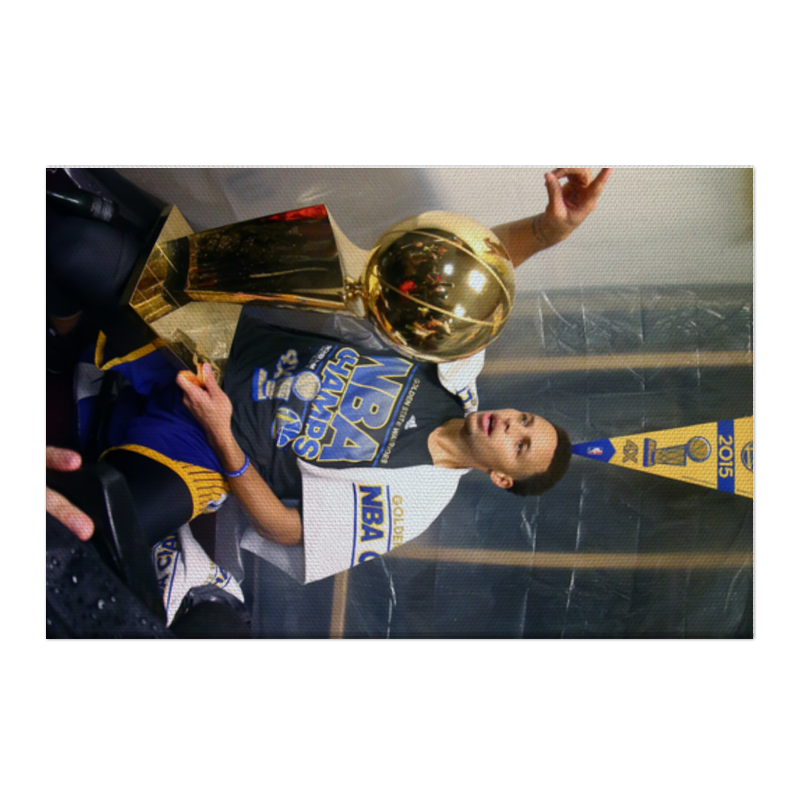Холст 50x75 Printio Stephen curry плакат a3 29 7x42 printio stephen curry