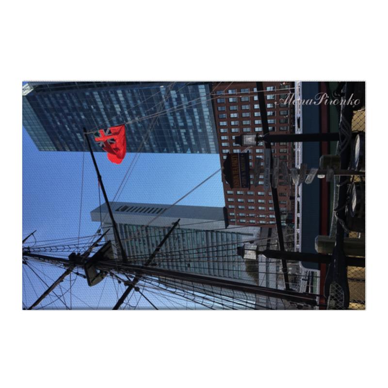 Холст 50x75 Printio Бостон [супермаркет] джингдонг йонаго домашнего интерьера аксессуаров для дома фото рамки фото рамки качелей наборов тройного стенда