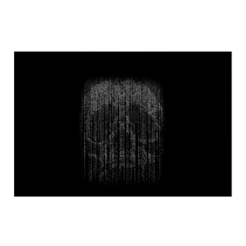 Холст 50x75 Printio Голограмма череп
