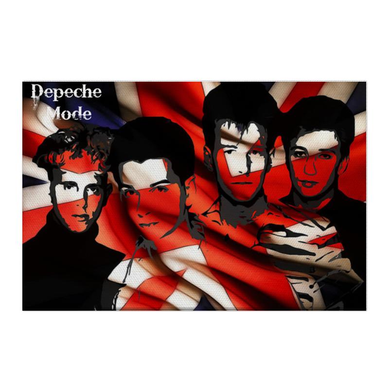 цена Холст 50x75 Printio Depeche mode