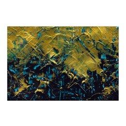 "Холст 50x75 ""Abstract"" - картина, разводы, абстракция, живопись, флюид"