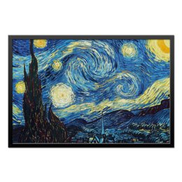 "Холст 50x75 ""Звездная ночь"" - арт, ван гог, зведная ночь, the starry night, vincent van gogh"