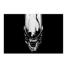 "Холст 50x75 ""Xenoblack"" - стиль, alien, movie, alienmovie, ellenripley"