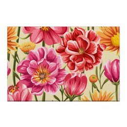 """Холст 50x75 """"Садовые цветы"""" - красиво, цветы, природа, красивые цветы, садовые цветы"""