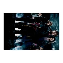 "Холст 50x75 ""Гарри Поттер"" - harry potter, гарри поттер, хогвартс, волшебник, рэдклифф"