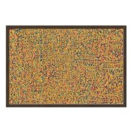 """Холст 50x75 """"Сандал"""" - арт, узор, абстракция, фигуры, текстура"""