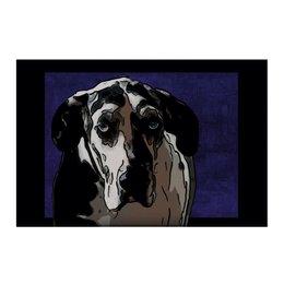 """Холст 50x75 """"Немецкий Дог"""" - животные, собаки, дог, немецкий дог, датский дог"""