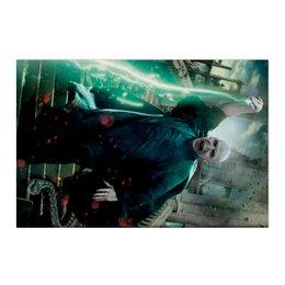 "Холст 50x75 ""Волан-де-Морт"" - harry potter, гарри поттер, хогвартс, волшебник, рэдклифф"