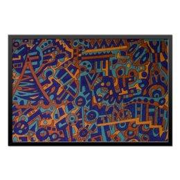"Холст 50x75 ""y7t6ggjlla11zzz"" - арт, узор, абстракция, фигуры, текстура"
