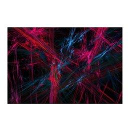 "Холст 50x75 ""Абстрактный дизайн"" - графика, абстракция, авангард, линии, лучи"