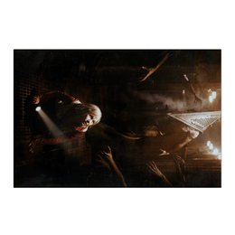 """Холст 50x75 """"Сайлент Хилл"""" - страх, игра, кино, ужасы, silent hill"""