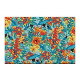"Холст 50x75 ""Лилии"" - красиво, цветы, ярко, природа, лилии"