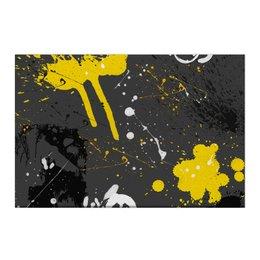 """Холст 50x75 """"Абстракция асфальт"""" - абстракция, абстрактный, жидкий акрил"""