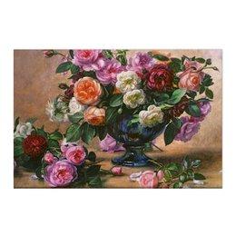 """Холст 50x75 """"Цветы """" - цветы, flowers, натюрморт, ваза"""