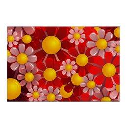 "Холст 50x75 ""Ромашки"" - красиво, цветы, ярко, природа, ромашки"