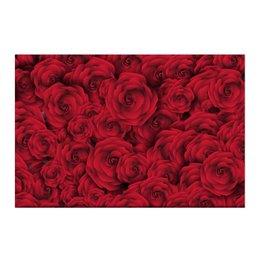 """Холст 50x75 """"Розочки"""" - цветы, день святого валентина, подарок, розы, день влюблённых"""