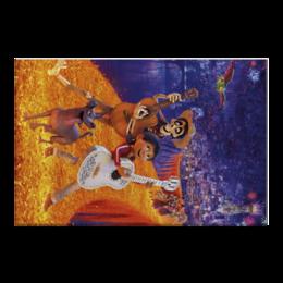 """Холст 50x75 """"Тайна Коко"""" - музыка, мультфильм, дисней, приключения, тайна коко"""