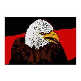 """Холст 50x75 """"Белоголовый орлан"""" - животные, птицы, орел, белоголовый орлан, символ сша"""