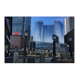 "Холст 50x75 ""Мегаполис"" - сша, небоскребы, большойгород"